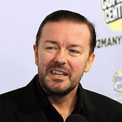 is ricky gervais vegan?